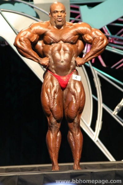 In what year did Ronnie coleman look the best