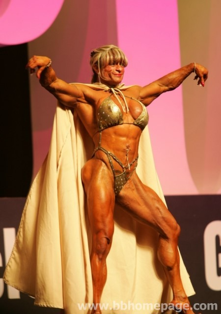 Vilma Caez USA World Smartest Female bodybuilders